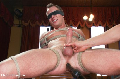 men tied up and forced