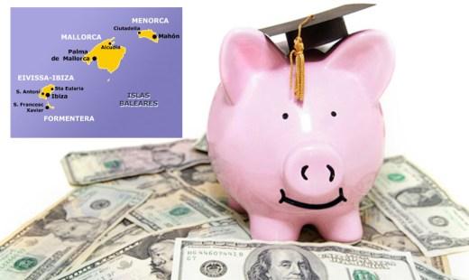 Más de 1.000 euros de media para estudiar un grado universitario en Balears