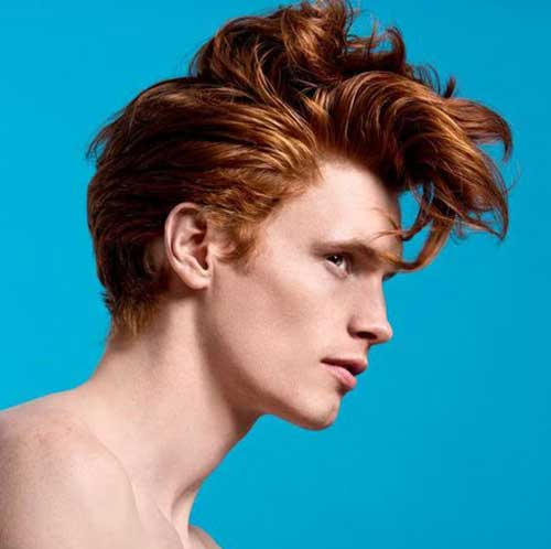 Guy Haircuts For Thick Curly Hair Red Haired Guys Pictures The Best Mens Hairstyles Haircuts