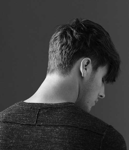 Guy Haircuts For Thick Curly Hair Back View Of Short Haircuts For Men The Best Mens