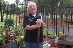 Allan Lewis (Vice Chairman) Elermore Vale Men's Shed