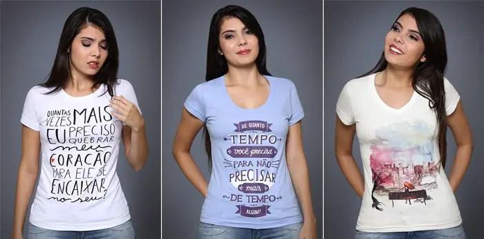 Frases Para Camisetas Femininas Mensagens Cultura Mix
