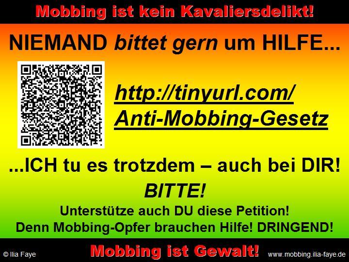 gesetze gegen mobbing