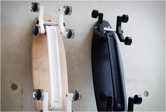 Stair rover longboard men 39 s gear for Cool fishing gadgets