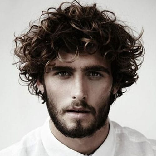 Guy Haircuts For Thick Curly Hair 15 Shaggy Hairstyles For Men Men 39;s Hairstyles Haircuts