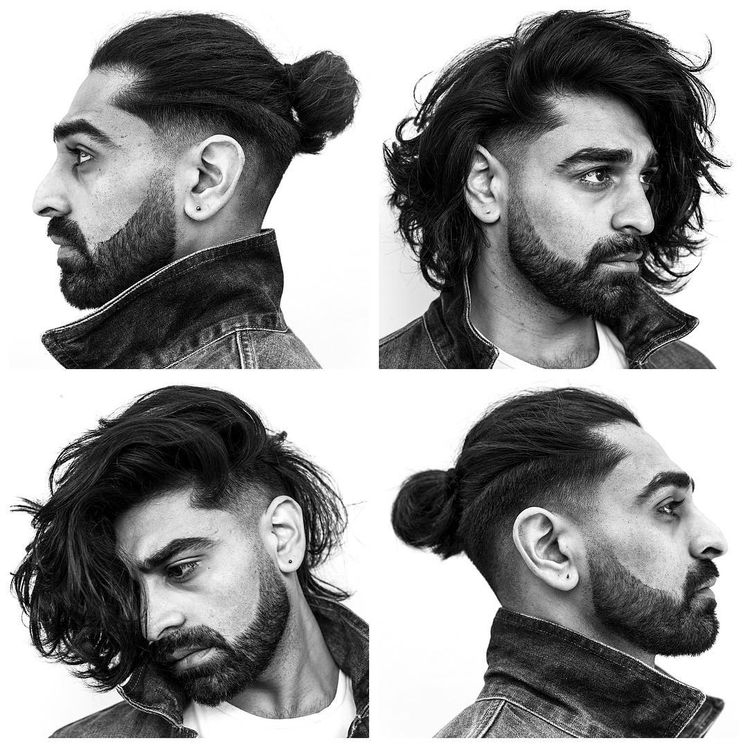 Sidecut Mann The Best Men S Hairstyles For Long Hair To Try In 2018