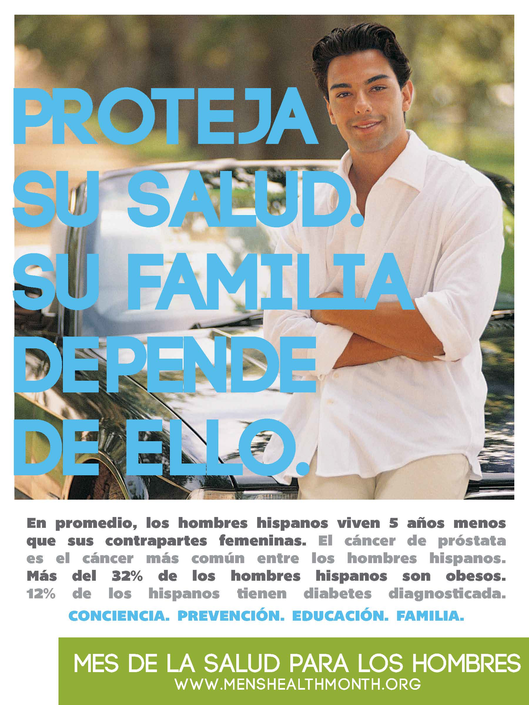 Poster In Spanish Posters Mens Health Month