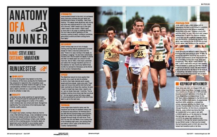Steve Jones runner