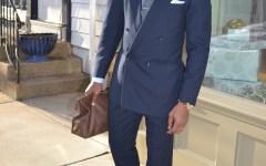 Sabir Peele Thrifted Suit