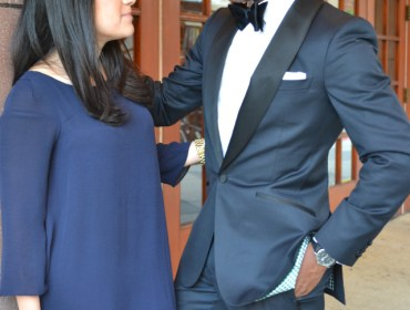 Enzo Custom Midnight Blue Tuxedo via Men's Style Pro