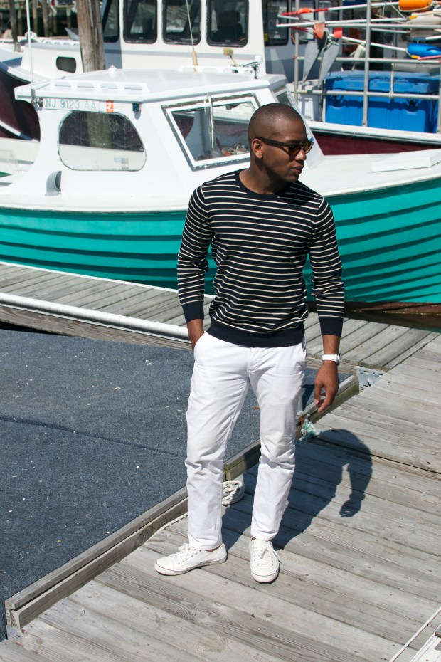 Sabir Of Men's Style Pro in Sperry Topsider Drifter Watch