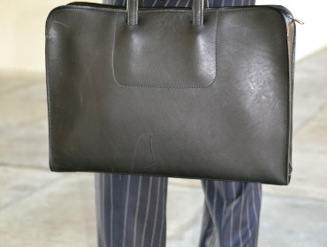 Korchmar Leather Madison Folio Briefcase via Men's Style Pro