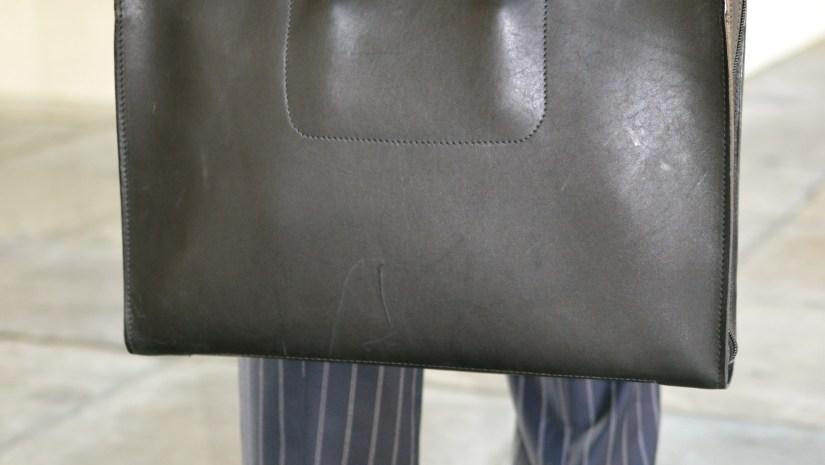 Korchmar Leather Madison Folio Briefcase via Men's Style Pro