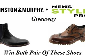 Johnston & Murphy x Men's Style Pro Holiday Giveaway