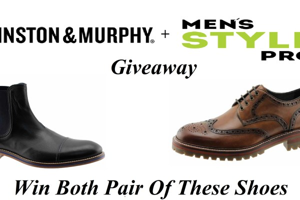 Johnston & Murphy x Men's Style Pro Giveaway