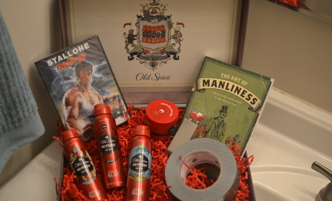 Old Spice Smellcome to Manhood