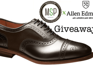 Allen Edmond x Men's Style Pro Custom Configurator Shoe Giveaway