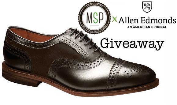 Allen Edmond x Men's Style Pro Custom Configurator Shoe Giveaway