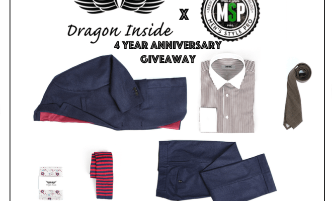 Dragon Inside x Men's Style Pro 4 Year Anniversary Giveaway
