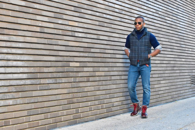Sabir M. Peele of Men's Style Pro in Timberland Hiking Boots 2