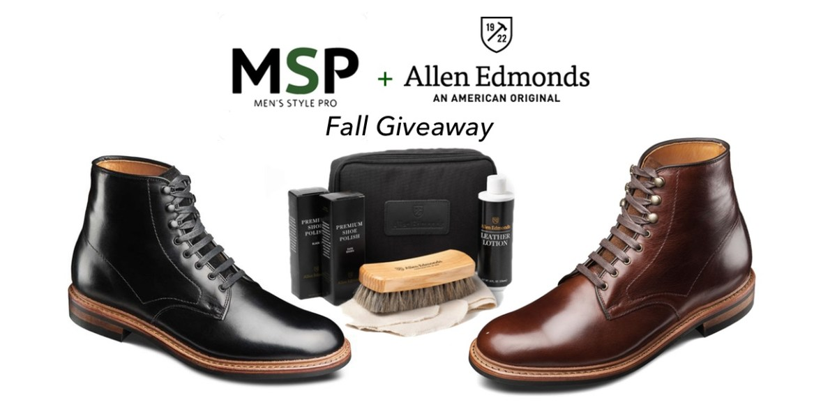 Allen Edmonds x Men's Style Pro Fall Giveaway