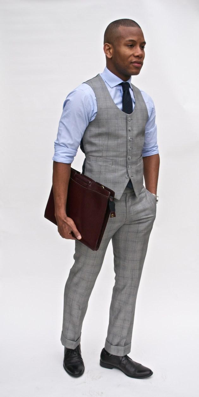 Glen Plaid Suit by Imparali Custom Tailor x Men's Style Pro
