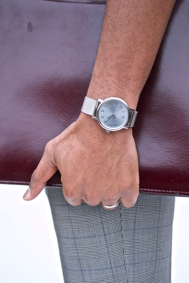 Imparali Custom tailors Glen Plaid Suit x Men's Style Pro