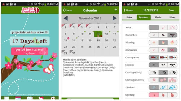 The Top Apps for Tracking Your Period - vacation tracker app
