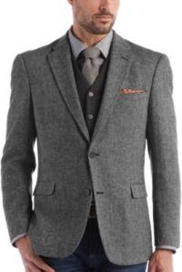 Black And White Sport Coat - Coat Racks