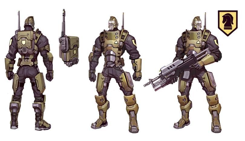 Battleborn Oscar Mike Profile Overview Peacekeeper