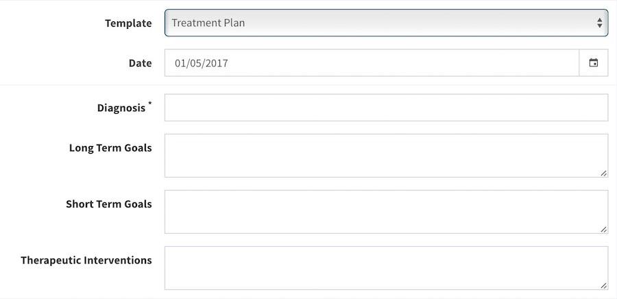 Treatment Plan with Mentegram Notes - Mentegram™