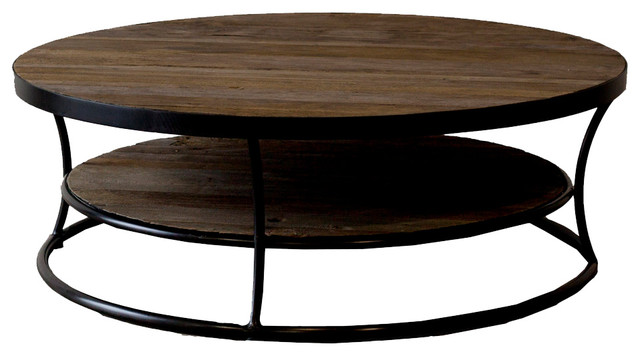 10 Best Collection Of Unique Wood Rustic Round Coffee Table