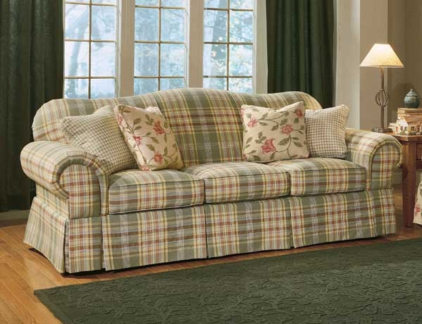 slipcovered sofas and chairs