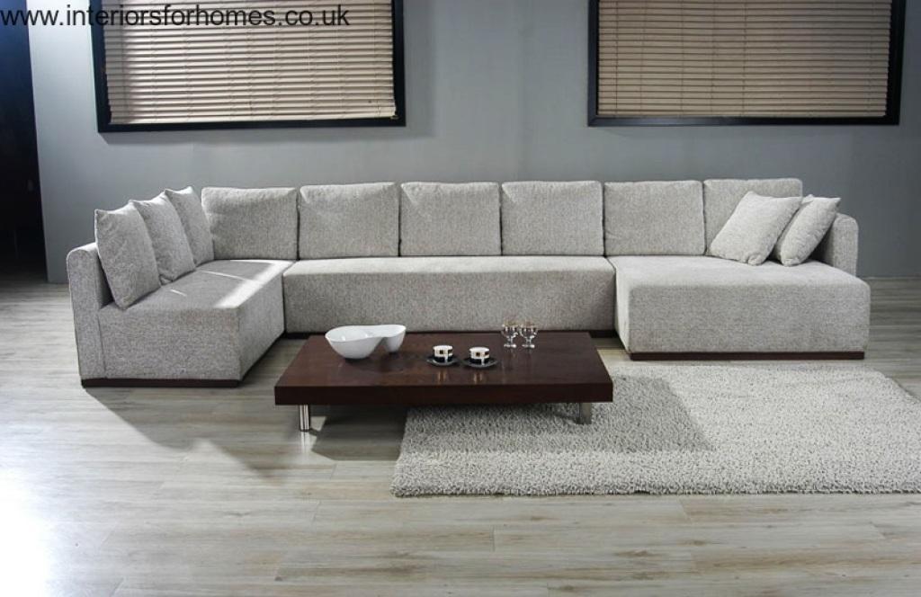 U Couch Top 20 Of Very Large Sofas