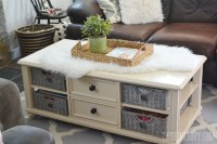 20 Best Ideas of Coffee Table With Wicker Basket Storage