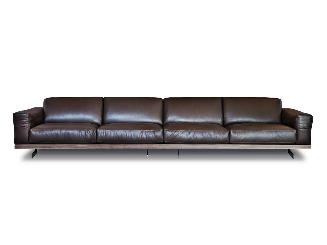 Leather Sofa Seats Designs 30 Ideas Of 4 Seat Leather Sofas
