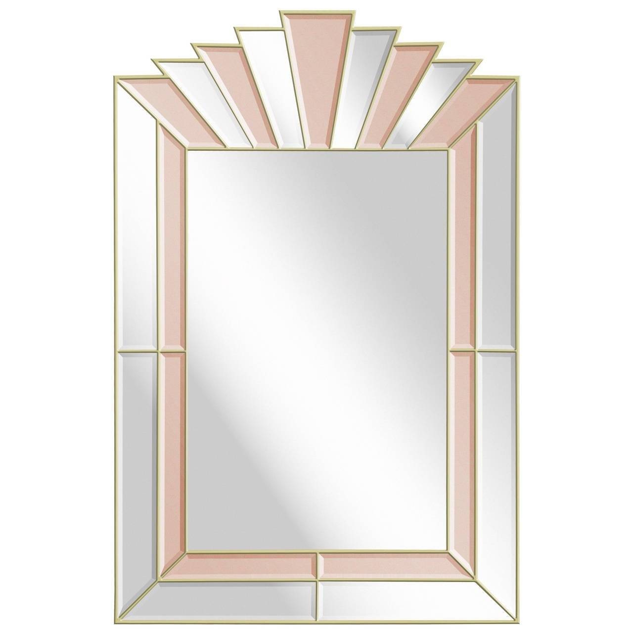Art Deco Stile 25 Inspirations Of Art Deco Style Mirrors
