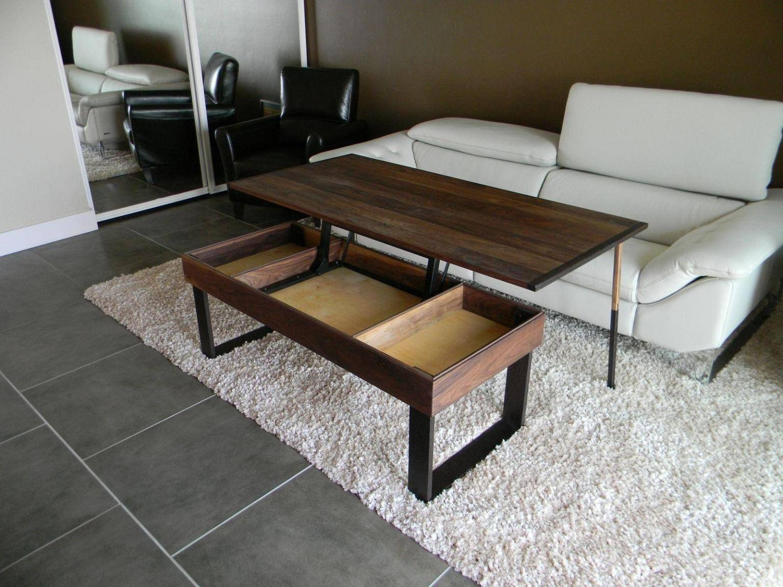 Double Lift Top Table 30 Best Coffee Table With Raised Top