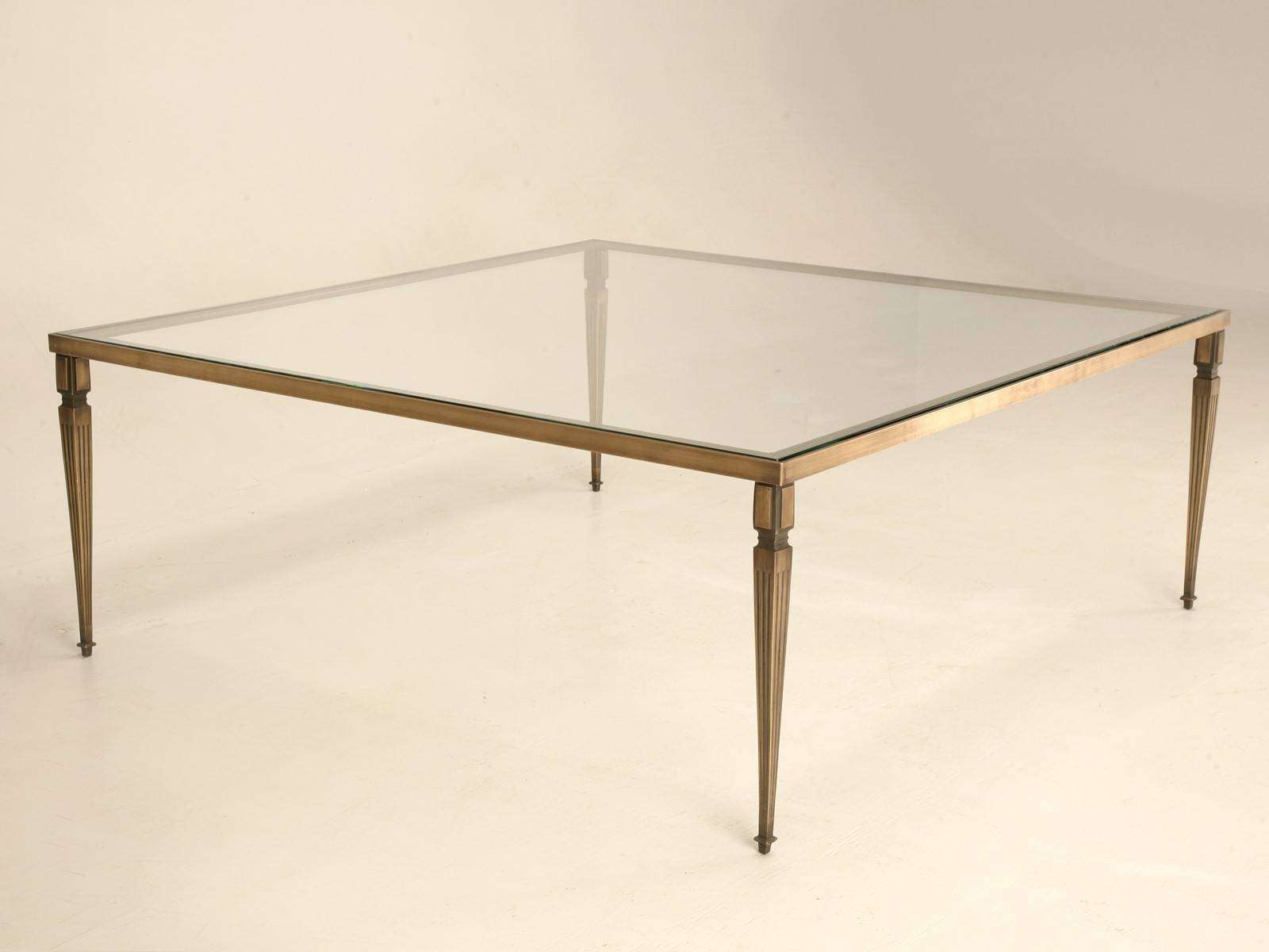 Large Square End Table 30 Ideas Of Large Square Glass Coffee Tables
