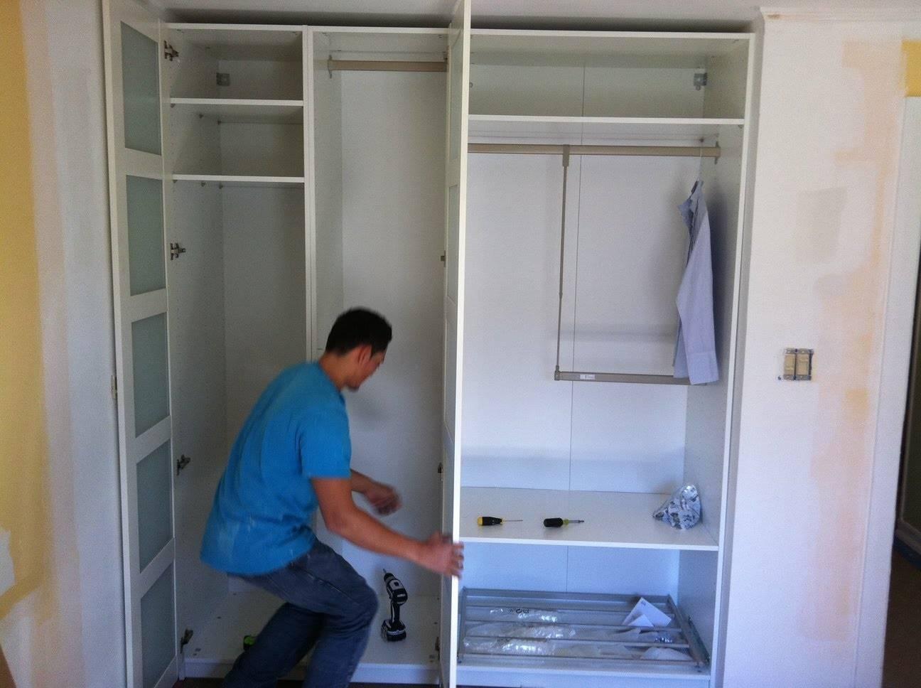 30 Inspirations Of Corner Wardrobe Closet Ikea