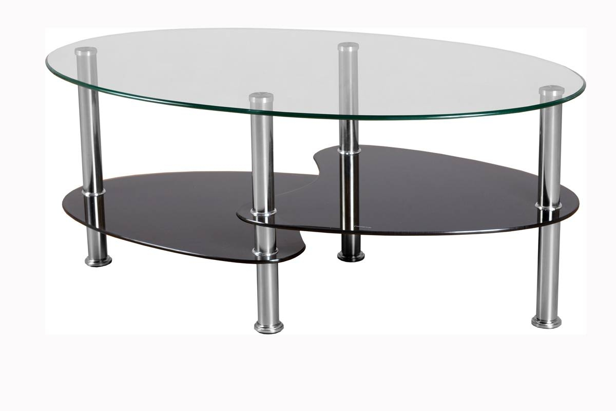 Couchtisch Oval Glas 30 Best Oval Black Glass Coffee Tables