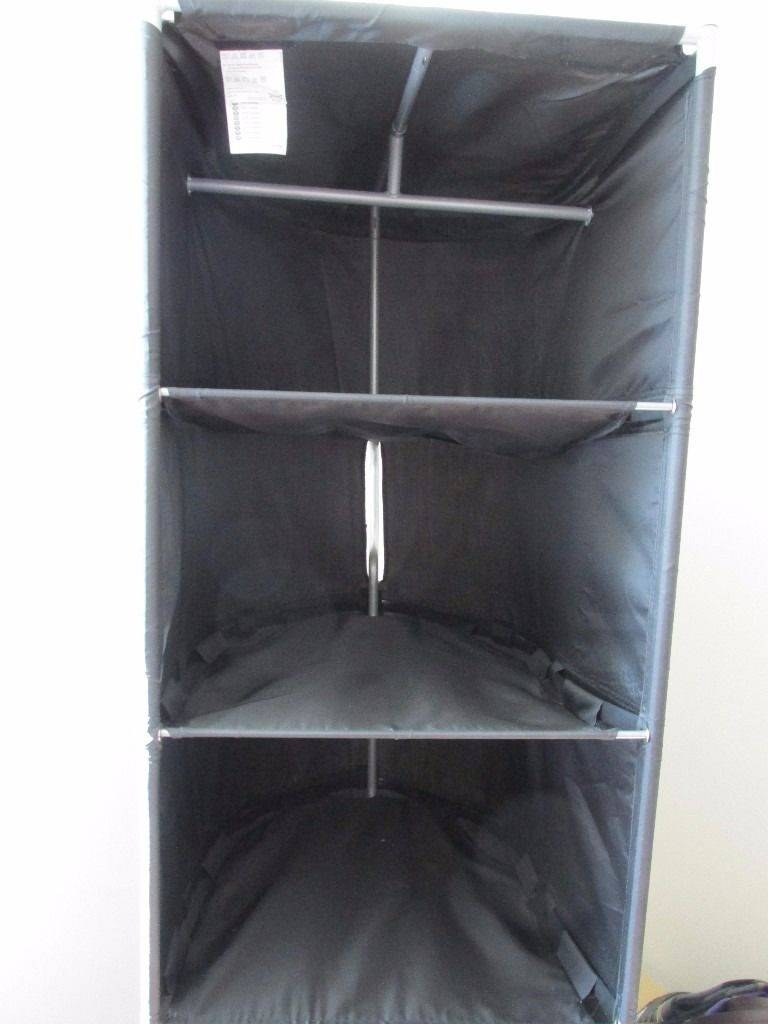 Ikea Wardrobe Tidy 30 Inspirations Of Double Black Covered Tidy Rail Wardrobes