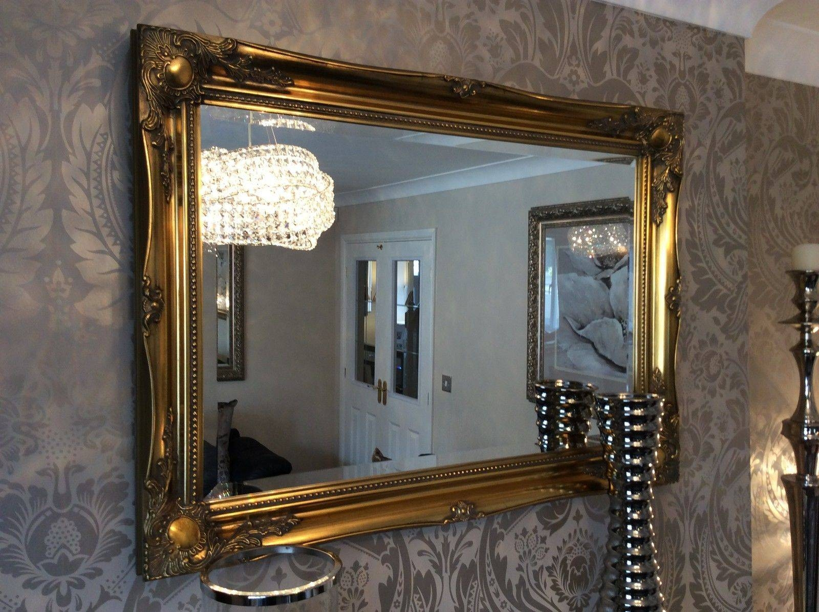 Mirrored Picture Frames 2018 Latest Gilt Framed Mirrors