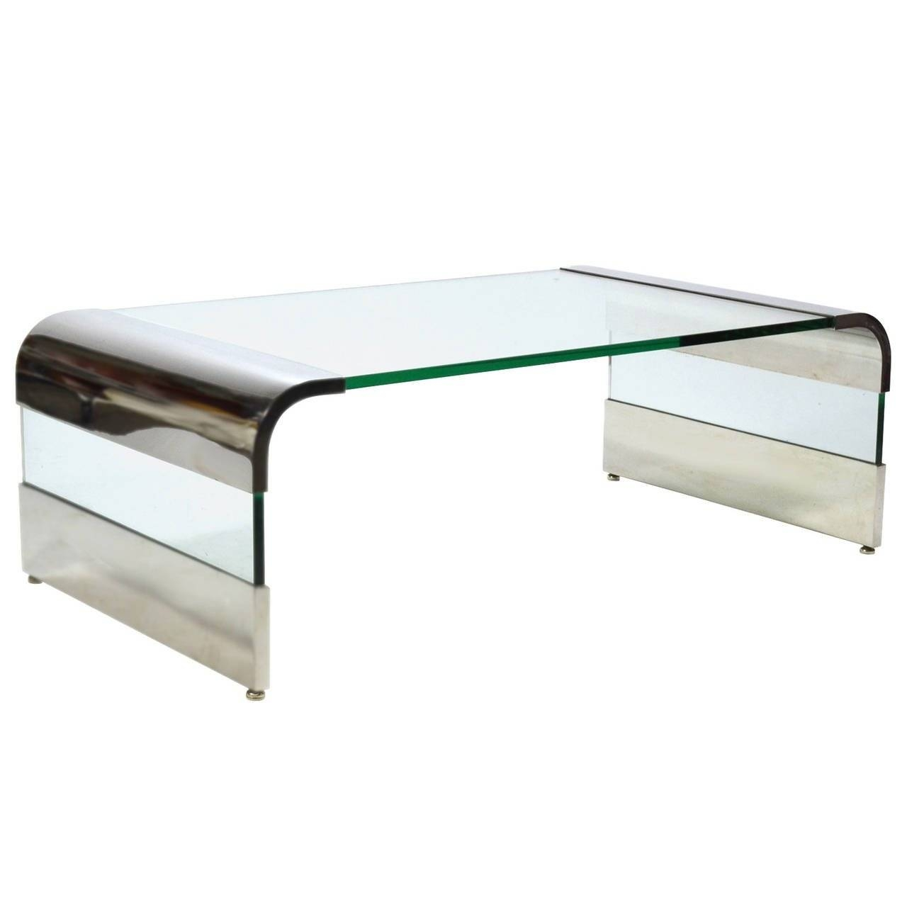 Chrome Coffee Table 30 Collection Of Chrome And Glass Coffee Tables