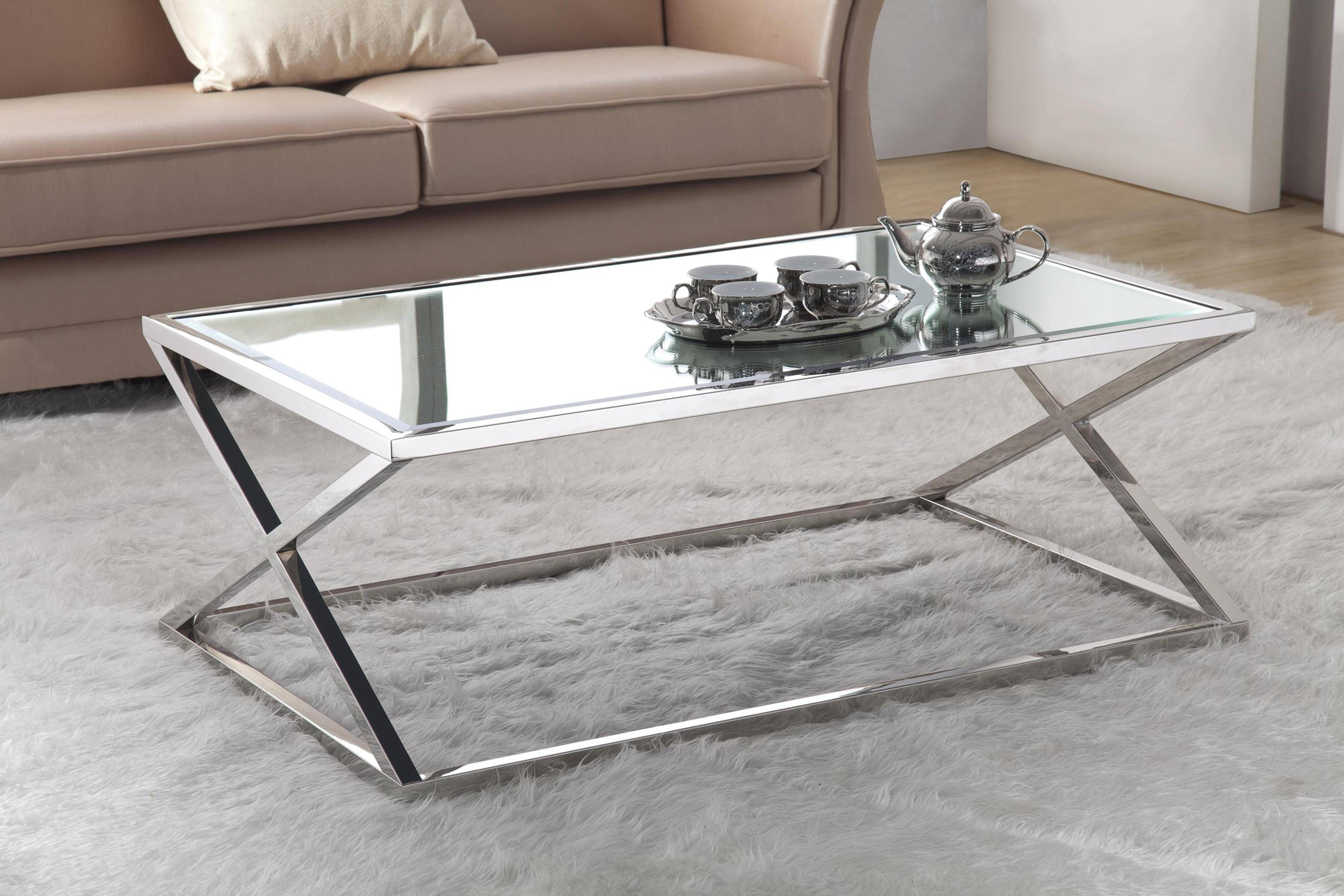 Coffee Table With Black Glass Top Best 30 43 Of Glass Metal Coffee Tables