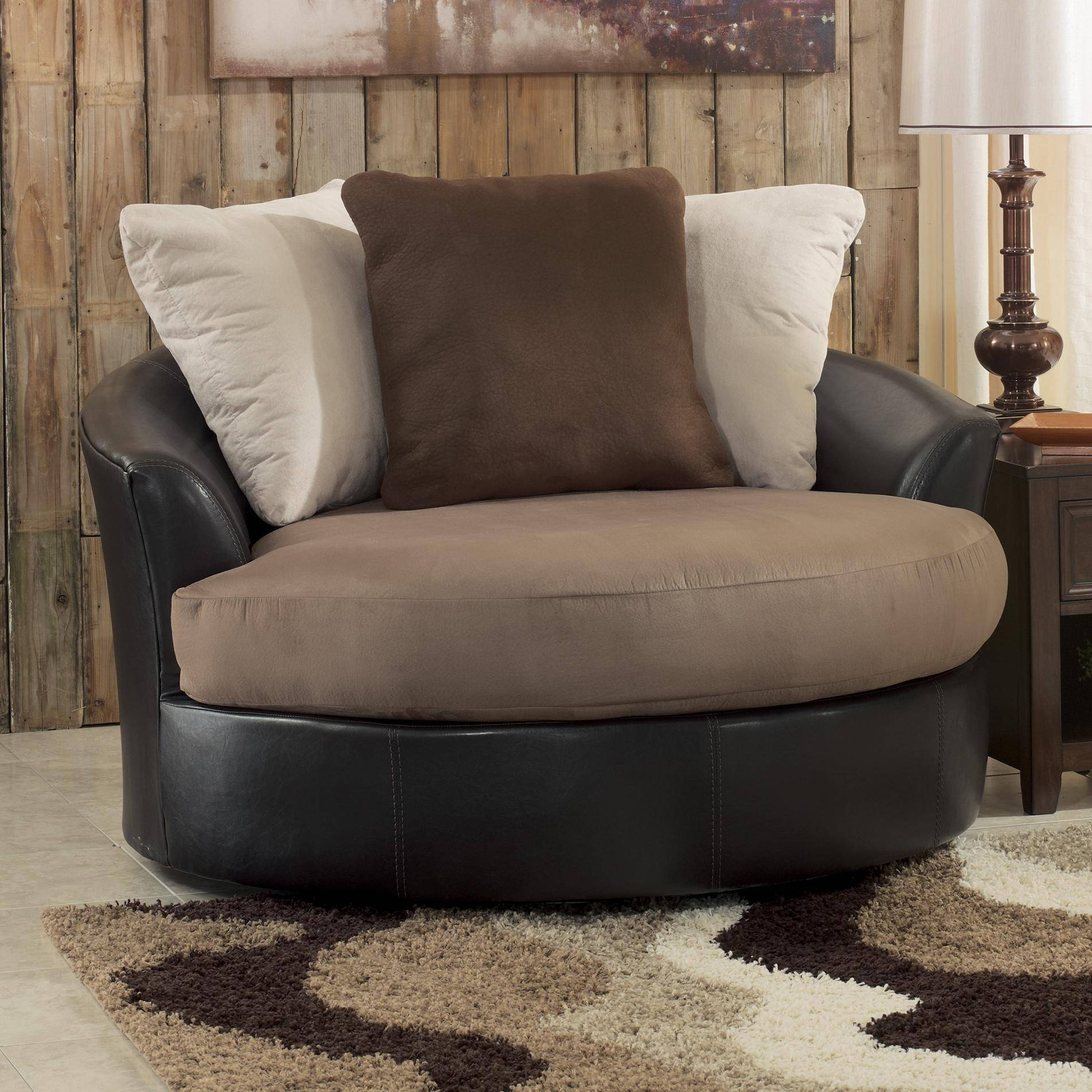 Circle Chairs For Bedrooms 30 Photos Round Swivel Sofa Chairs