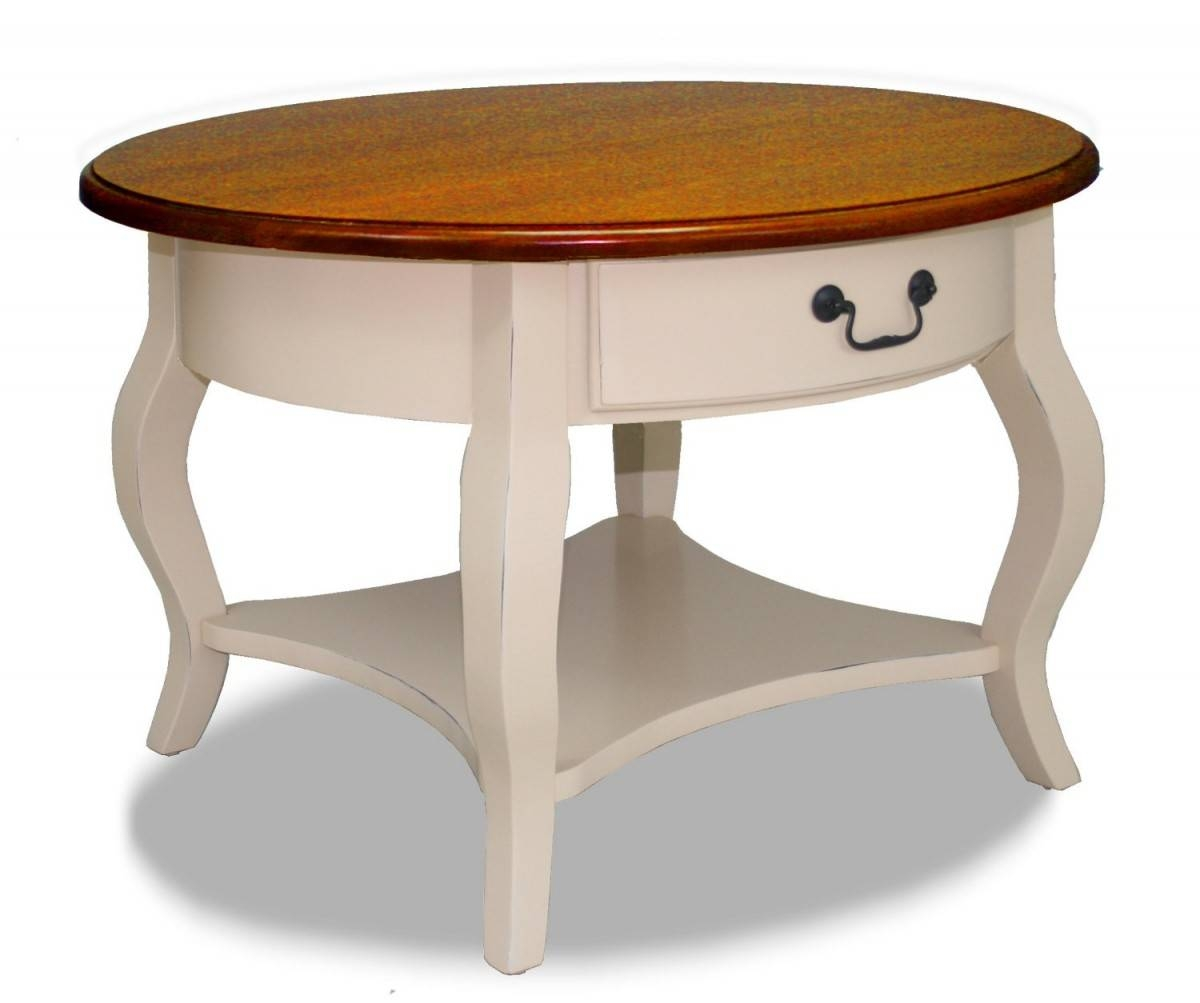 Round Coffee Table With Storage Top 25 Of Cream Coffee Tables With Drawers