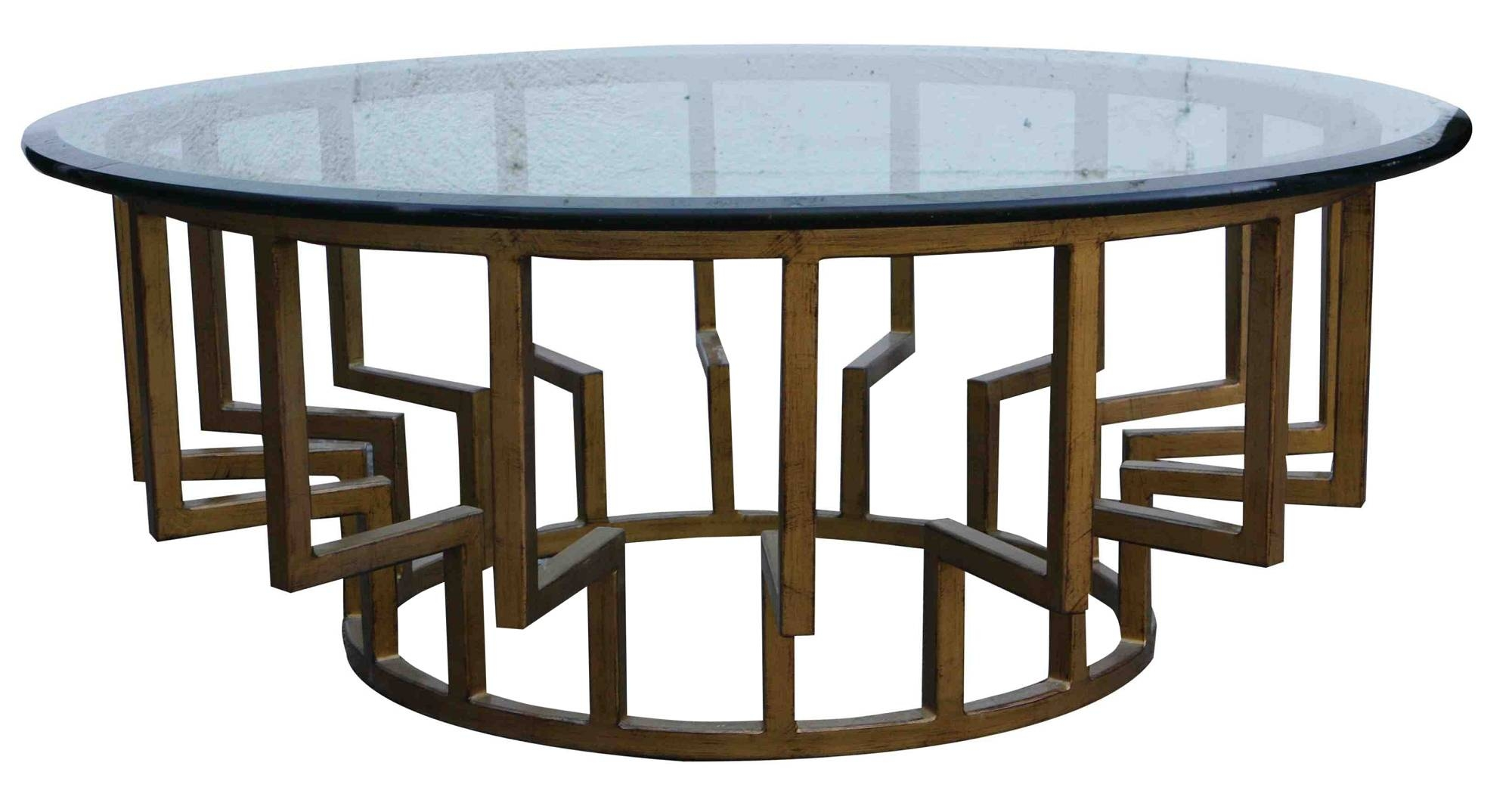 Wooden Coffee Table With Glass Top 30 Best Round Glass And Wood Coffee Tables