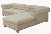Awesome Tufted Sectional sofa Chaise - Sofas