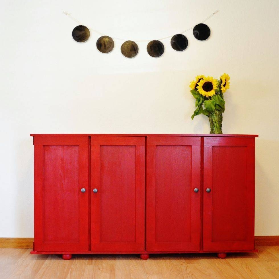 Ikea Credenza Gallery Of Red High Gloss Sideboards View 25 Of 30 Photos